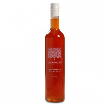 The Scottish Fruit Co. Gooseberry & Mint Cordial 500ml