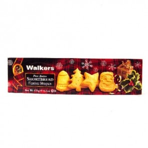 Walkers Festive Shaped Shortbread