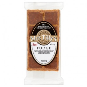 Mrs Tilly's Luxury Scottish Fudge 90g bar