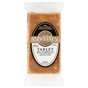 Mrs Tilly's Luxury Scottish Tablet 90g bar