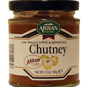 Arran Cask Matured Apple & Arran Ale Chutney 180g