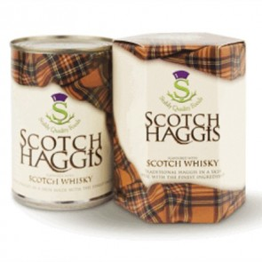 Stahlys haggis with Scotch whisky 410g