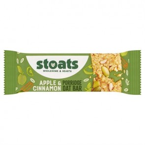Stoats Apple & Cinnamon Porridge Bar