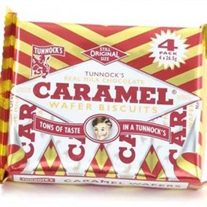 Tunnock's Caramel Wafers (4 pack)