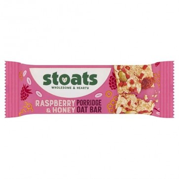 Stoats Raspberry and Honey Porridge Bar