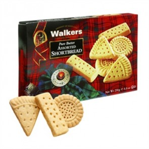 Walkers Assorted Shortbread 250g